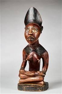 Phemba maternity figure, Yombe people, DR Congo