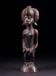 Male Statue, Senufo people, Ivory Coast, 1930s to 1940s