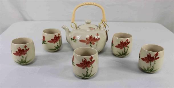 Asian Tea Cups & Saucers