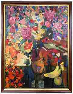 """Lemzyakov Vladimir Gennadievich - Painting """"Still Life,"""