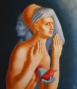 "Pronkina Elena - Painting ""Strange Heart"""