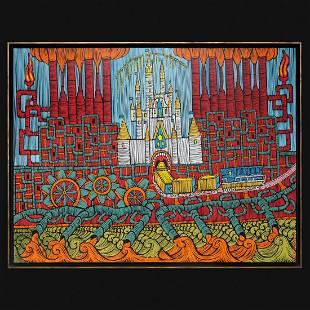 "Barbudaz Sh - Painting ""Disneyland"""