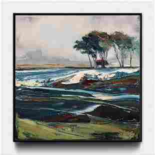 """Chizhov Andrew - Painting """"The field is rough - one!"""""""