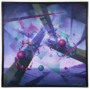 "Taverovsky Igor Abramovich - Painting ""Metaphysical"
