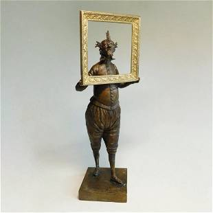 "Shevchuk Dmitry - Sculpture ""Self-portrait"""