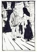 Turanskiy Alexander Alexeyevich - Drawings, 7 sheets