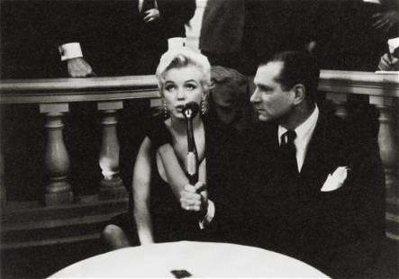 EVE ARNOLD - Marilyn Monroe, Laurence Olivier, 1956