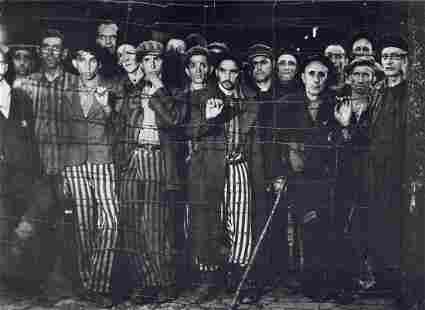 MARGARET BOURKE-WHITE - Buchenwald, Germany, 1945