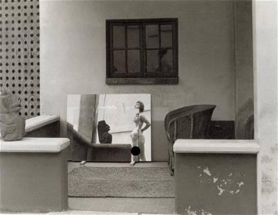MANUEL ALVAREZ BRAVO - Mirror Reflections, 1990