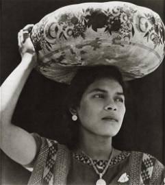TINA MODOTTI - Woman from Tehuantepec, Mexico, 1929
