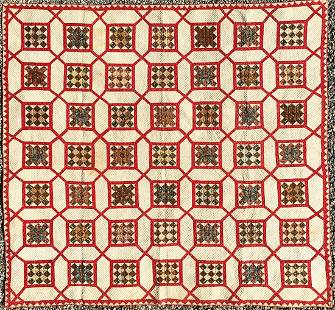 Quilt - Patchwork Quilt #6, Purchased In Virginia In