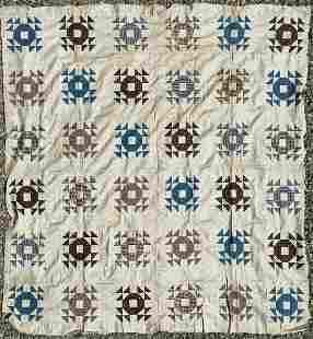 Quilt - Patchwork Quilt 19c