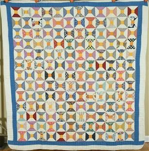 Cheery 30's Bowtie / Spool Quilt