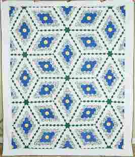 30's Field of Diamonds Quilt