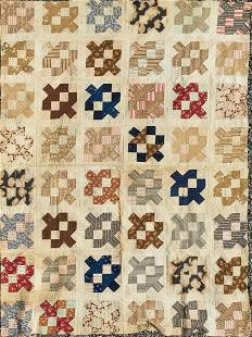 Quilt - Patchwork Quilt #3, Purchased In Virginia In