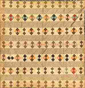 Patchwork Quilt 19c
