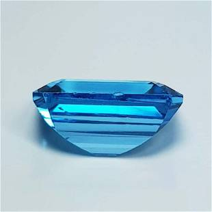 5.65 ct Natural Swiss Blue Topaz