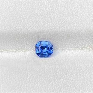 Natural Blue Sapphire 0.86 Cts Madagascar Octagon Cut