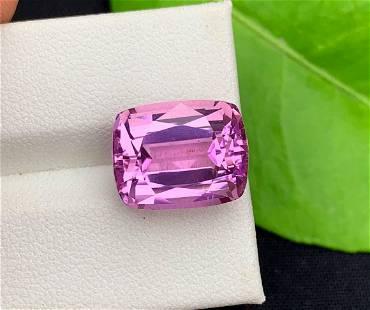 Natural Deep Pink Kunzite Spodumene Loose Gemstone
