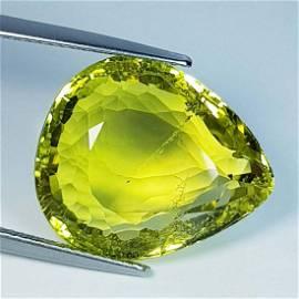 20.58 ct Natural Green Gold Quartz