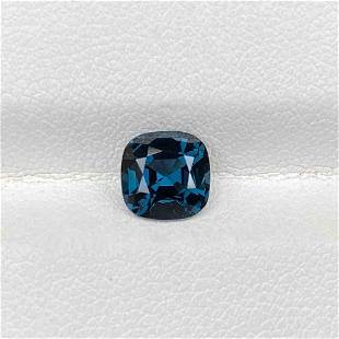 Natural Unheated Blue Spinel 1.49 Cts Square Cushion