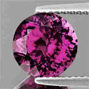 6.00 mm{1.22 cts} Round Best AAA Fire Pink Purple