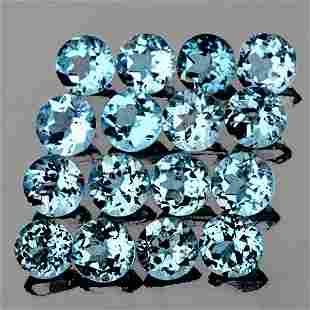 2.20 mm Round 20 pcs AAA Fire Luster Natural Blue