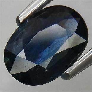 Natural unheated blue sapphire -1.10 ct