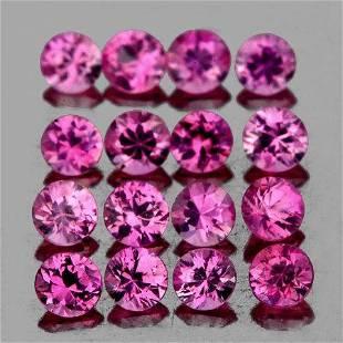 1.80 mm 30 pcs Round Diamond Cut AAA Fire AAA Pink
