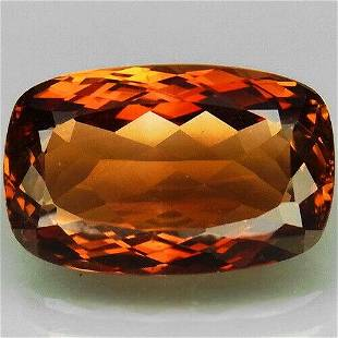 Brownish Orange Imperial Topaz-13.18 ct