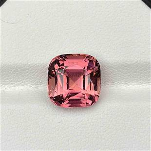 Natural Untreated Pink Tourmaline 7.06 Cts Congo Square
