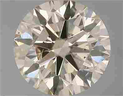 1.58 Carat White(Q) Color Natural Round Diamond Loose