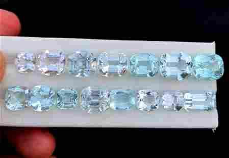 Aquamarine Gemstones Lot From Pakistan -
