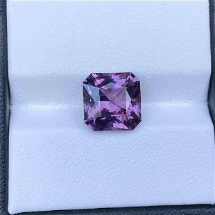 Natural Unheated Purple Spinel Sri Lanka 5.67 Cts