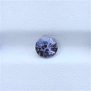 Natural Unheated Purple Spinel 1.30 Cts Oval Cut Loose
