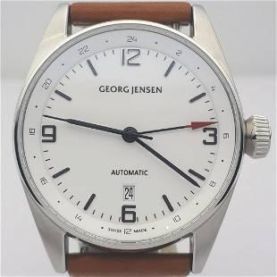 Georg Jensen - Delta Classic GMT - Ref:396 - Men -