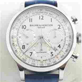 Baume & Mercier - Capeland Chronograph - Ref: 65687 -