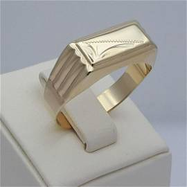 14K Yellow Gold - Ring