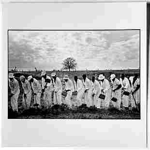 Danny Lyon: The Line, Ferguson Unit, Texas Dept. of