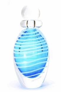 Murano glass Submerged Bottle signed