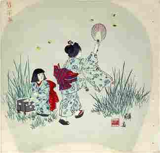 GEKKO studio: Two girls chasing fireflies