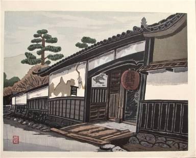 Masao Maeda: Bashamonten Temple Gate