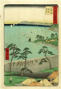 Utagawa HIROSHIGE: Odawara (station no. #10)