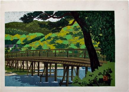 Masao Ido: Arashiyama and Togetsukyo Bridge