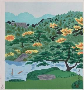 Tokuriki: Kiyomizu Temple in Distance