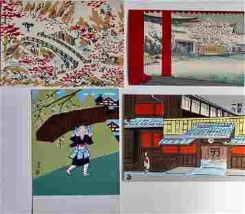 Tokuriki: Four Postcards