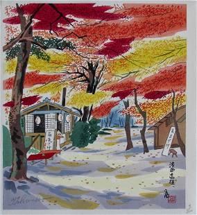 Tokuriki: Fall Scene