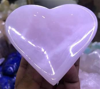 Small Size Pink Mangano Calcite Bowl