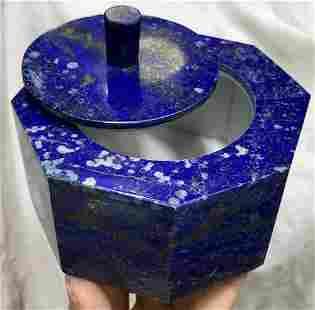 0.4 kg Hand Made Lapis Lazuli Urn