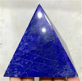 0.3 Kg Hand Crafted Lapis Lazuli Pyramid